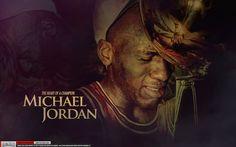 Michael Jordan Heart of a Champion Wallpaper by Angelmaker666.deviantart.com