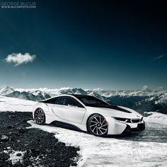Alpine BMW i8 - pic via @gbphotog • #CarsWithoutLimits