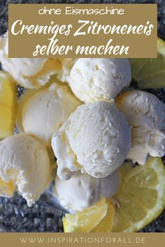 Zitroneneis selber machen – sehr cremig & ohne Ei, einfaches Rezept This lemon ice cream is so creamy and tastes incredibly delicious. You can make the ice yourself without an ice cream maker and without an egg. The recipe is very simple. Healthy Juice Recipes, Juicer Recipes, Healthy Juices, Vegan Breakfast Recipes, Baby Food Recipes, Food Baby, Budget Freezer Meals, Cooking On A Budget, Easy Meals