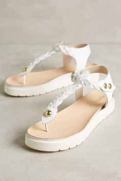 Alba Moda Braided T-Strap Thongs - anthropologie.com  anthroregistry Low  Heel Shoes 069d96f710