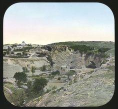 Calvary Side next Jerusalem Date: circa 1880-1900