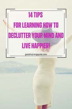 Decluttering your life is much more than cleaning out your house. Sometimes you need to declutter your mind with a brain dump. In this article, we'll reveal 14 tips for learning how to declutter your mind and live happier. Be inspired! Think Positive Thoughts, Positive Attitude, Motivational Quotes For Success, Positive Quotes, Girl Smile Quotes, Declutter Your Mind, Brain Dump, Know What You Want, Live Happy