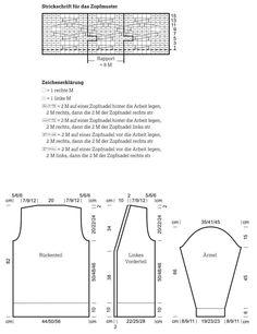 Long-Cardigan in einem Zopfmuster - kostenlose Strickanleitung