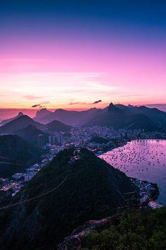 Sunset / Rio de Janeiro    by: { Richard Brundage }