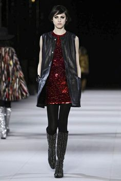 Saint Laurent Ready To Wear Fall Winter 2014 Paris - NOWFASHION