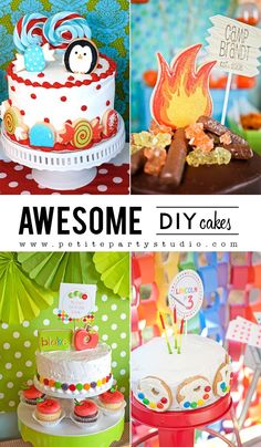 DIY Cakes on a budget.