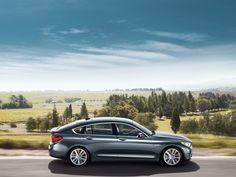 BMW 5 GT Silver