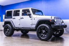 """Lifted 2010 Jeep Wrangler Unlimited Sport 4x4 Jeep For Sale with Brand New 4"""" Fabtech Performance Lift with 20"""" XD Monster Wheels on 35"""" x 12.50 R20 Mastercraft MXT Tires! 