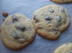 Chocolate Chip Cookies ready to eat! Homemade, with Martha Stewart chewy recipe.
