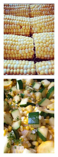 Fresh Corn and Zucchini Saute | reluctantentertainer.com