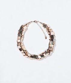 ZARA - WOMAN - METALLIC NECKLACE