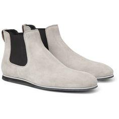 Designer Clothes, Shoes   Bags for Women   SSENSE. Bottes Style Chelsea En  DaimBottes ... 5bed8912dc89
