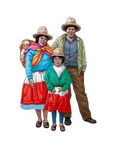 rostros de campesinos peruanos - Buscar con Google