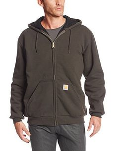 Just Hiker Male Fashion Hooded Sweatshirt Spandex-Reinforced Hoodies Pocket Waistband