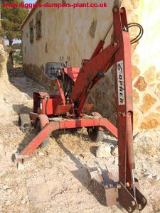Gopher digger information, pictures and technical information Lawn Mower Maintenance, Metal Workshop, Mini Excavator, Kubota, Digger, Welding Projects, Minis, Basement, Homes