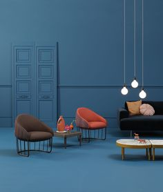 Sancal started out manufacturing classic, French-style chairs. Four decades on, we have decided to revisit our origins and borrow from the past. Our studio was selected to give the project a fresh, innovative angle. #furniturecolors