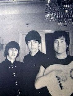 Ringo, Paul, and John