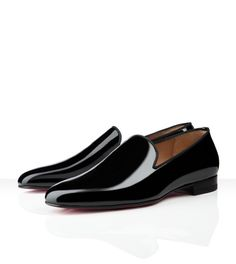Smooth- Christian Louboutin - Henri Flat Patent Leather
