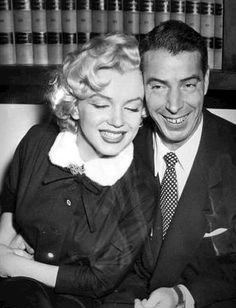 Marilyn Monroe and Joe DiMaggio - Throwback Photos of Iconic Hollywood Couples - Photos