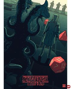 Stranger Things by Laurie Greasley