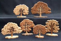 best scroll saw patterns Tree Patterns, Wood Patterns, Woodworking Patterns, Woodworking Crafts, Intarsia Woodworking, Diy Toys And Games, Best Scroll Saw, Intarsia Patterns, Scroll Saw Patterns Free