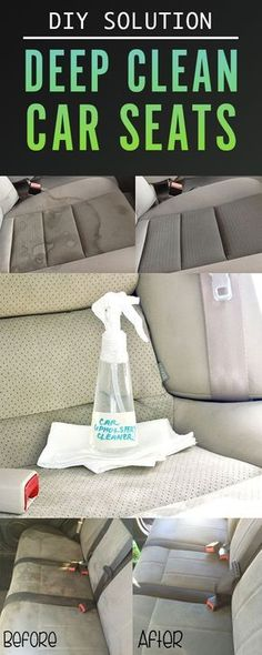 The Perfect DIY To Detail Your Car's Upholstery