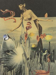 Hannah Höch - Am Nil II 1940 (Private Collection)