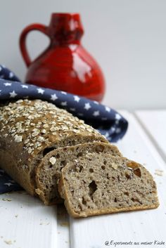 Experimente aus meiner Küche: Leinsamen-Vollkorn-Brot ohne Kneten #breadbakingfriday