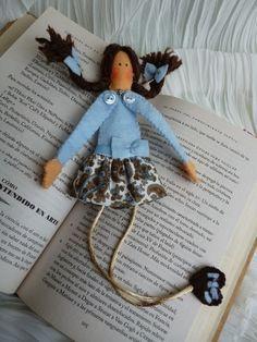 Anilegra moda para muñecas: Una idea para regalar MUÑEQUITAS MARCA PÁGINAS con tutorial