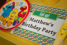 Welcome to Sesame Street Birthday Party! | CatchMyParty.com