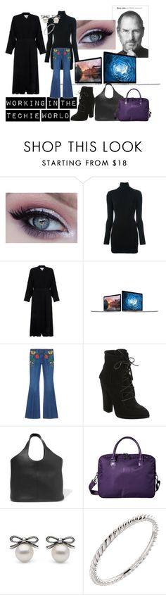 """""""New Job Outfits - 011"""" by deykav1968 on Polyvore featuring Dsquared2, Helmut Lang, Apple, Gucci, Giuseppe Zanotti, Tom Ford, Lipault and Wish by Amanda Rose"""