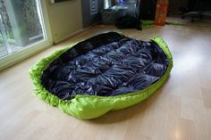 Make Your Own Gear » Ultralight karo-step hammock down underquilt with some innovations (?) Video and Pictures! -- BackpackingLight.com Forums