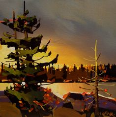 Green Lake, by Michael O'Toole Seascape Paintings, Nature Paintings, Landscape Paintings, Landscapes, Canadian Painters, Canadian Artists, Abstract Landscape, Abstract Art, Sculpture