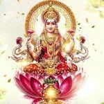 Godesses Lakshmi Sloka For Good Fortune