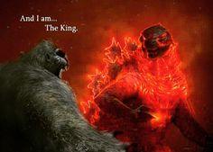 No photo description available. King Kong, Boruto, Arte De Personajes, Bestia, Carteles De Películas