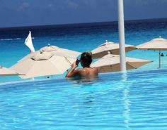 Friday mood be like... Ocean air & salty hair. Relax with ME on #TheSummerScene  #mecancun #travel #lifestyle #sun #caribbean #mexico #summer #beach #ocean #blue #paradise