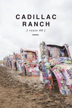 Cadillac Ranch - Shannon Did What? Route 66 Road Trip, Road 66, Road Trips, Zion Road, Texas Vacation Spots, North America Destinations, Road Trip To Colorado, Historic Route 66, Travel Usa
