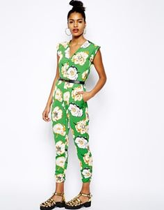 Floral jumpsuit, I want to try!