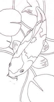 How to Paint Koi Carp in Watercolour - Practice Your Wet-in-Wet Techniques with Alison Fennell - Marisa Abel - Animal de soutien émotionnel Koi Fish Drawing, Fish Drawings, Art Drawings, Drawing Drawing, Koi Painting, Silk Painting, Painting Prints, Art Koi, Fish Art
