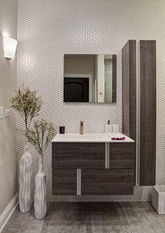 EDYTA & CO. Chicago Suburban Family Home, Modern Bathroom