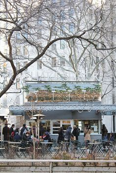 THE SHAKE SHACK - NYC Southeast corner of Madison Square Park near Madison Ave. and E.23rd St.