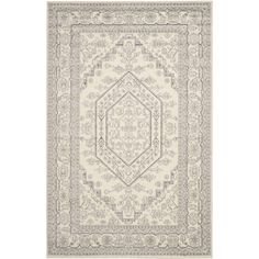 Safavieh Adirondack Ivory/Silver 10 ft. x 14 ft. Area Rug-ADR108B-10 - The Home Depot
