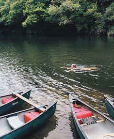 Canoe then swim Swim then canoe Tough choices when you are on holiday ! Love this photo by when she came to stay play dream Summer Vibes, Summertime, Swimming, Swim Swim, Canoeing, Adventure, Choices, Outdoor, River