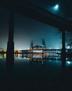Stunning Urban Night Shots of Portland by Brian Crippe #photography #streetmobs #travel #urban #Portland