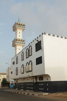 Mosque in the Morning Sun - Djibouti, Horn of Africa