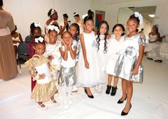 Lil Diva Super Models backstage getting ready to hit the runway!