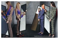 Vogue Italia July 2012 – Collections  Photographer: Steven Meisel Stylist: Karl Templer