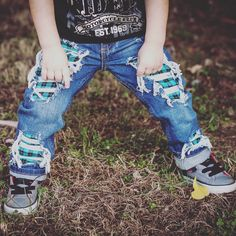 542a13e4a6c Just Shred-Size 6months-kids size 12 Unisex Skinny jeans boys girls denim  distressed