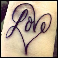 Brand new ink 11/18... <3 Love