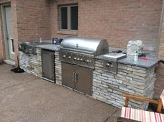 A perfect example of a complete #Coyote #OutdoorLiving #outdoor #kitchen. Thank you Geoff Smathers for sharing!